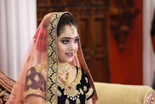 Indian simple wedding bridal look