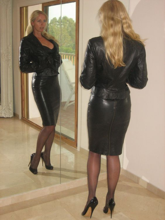 Lovely Ladies In Leather Leathershiny Ass Part 19-9571