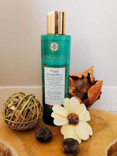 lotion aqua magnifica Sanoflore pour une routine visage naturelle