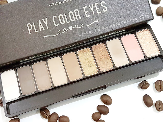 Review Etude House Play Color Eyes in The Cafe
