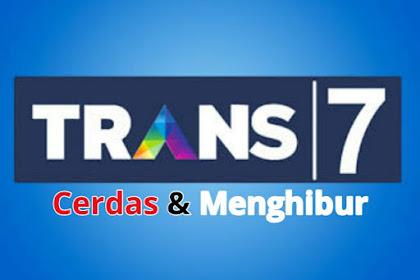 Frekuensi Trans 7 Terbaru di Telkom 4, Sekarang Format HD dan SD