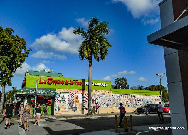 Restaurante em Little Havana, Miami