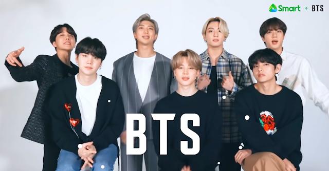 BTS, Korean Boyband BTS, Smart x BTS, BTS Smart Communications