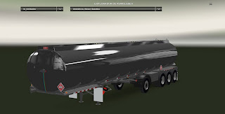 American Truck Simulator Heil Tank 4 Axles Trailer Trailer Download MODs