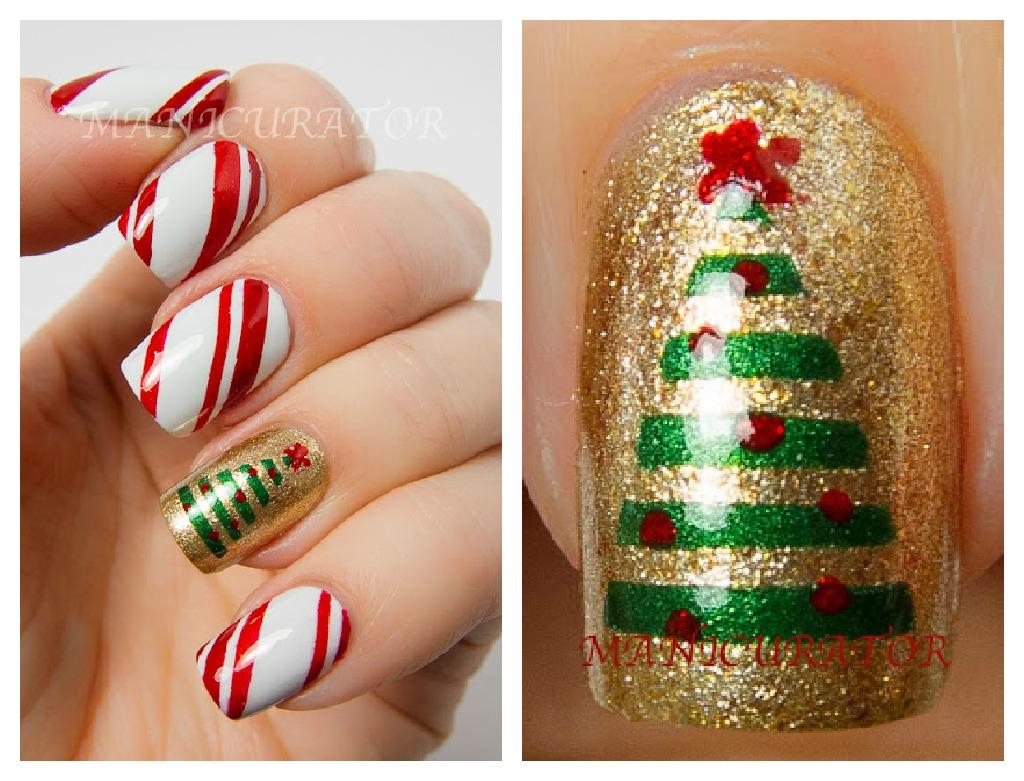 Melhores decorações de unhas natal 2014