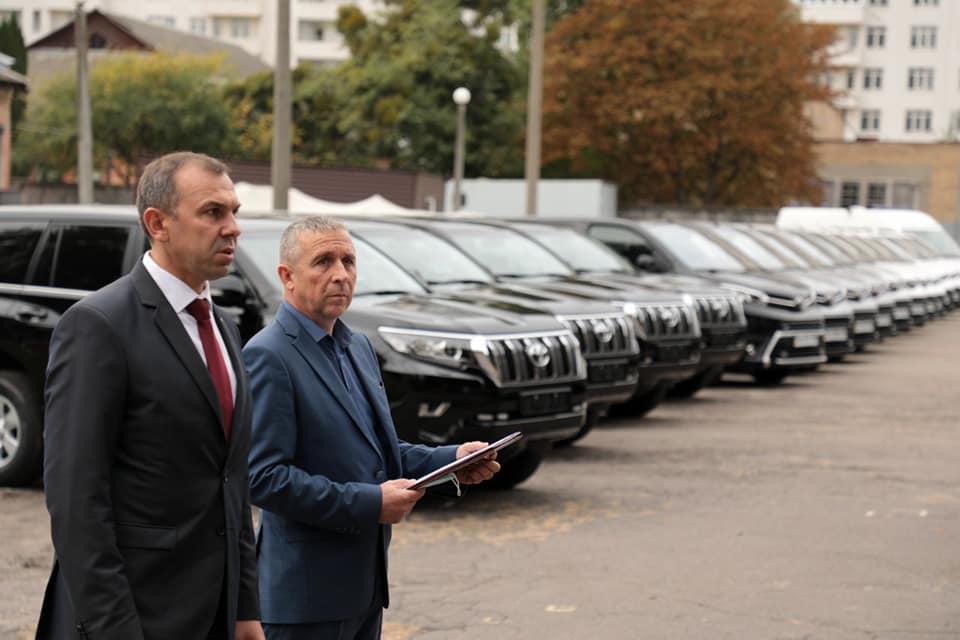 Президентська охорона отримала нові автівки