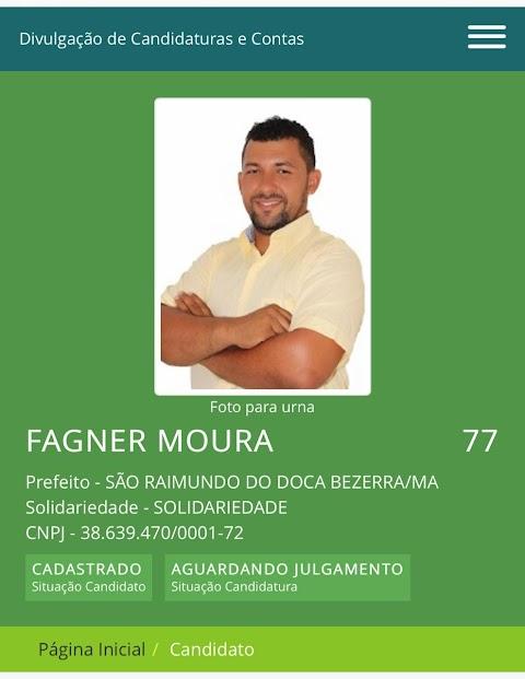 Até hoje não se resolveu o grave problema no registro do candidato a prefeito de oposição em São Raimundo do Doca Bezerra