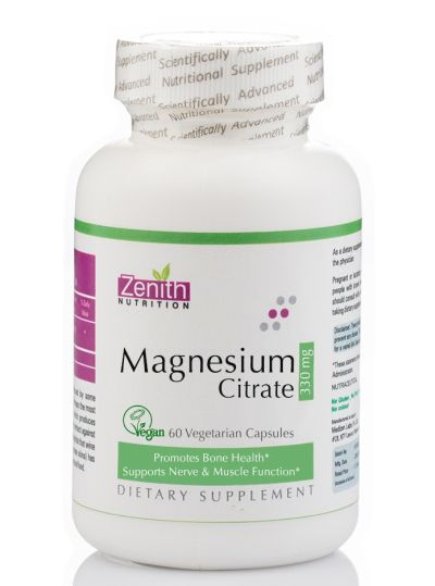 Zenith Nutrition Magnesium Citrate Review