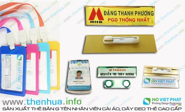 Làm thẻ nhựa chất liệu nhựa PVC, chống thấm nước cao cấp