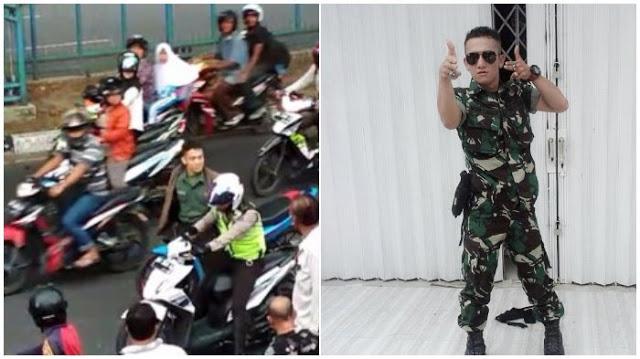 Setelah Aksinya Jadi Viral, Ini yang Terjadi pada Akun Instagram Oknum TNI yang Pukul Polisi
