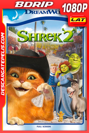 Shrek 2 (2004) FULL HD 1080p BDRip Latino – Ingles