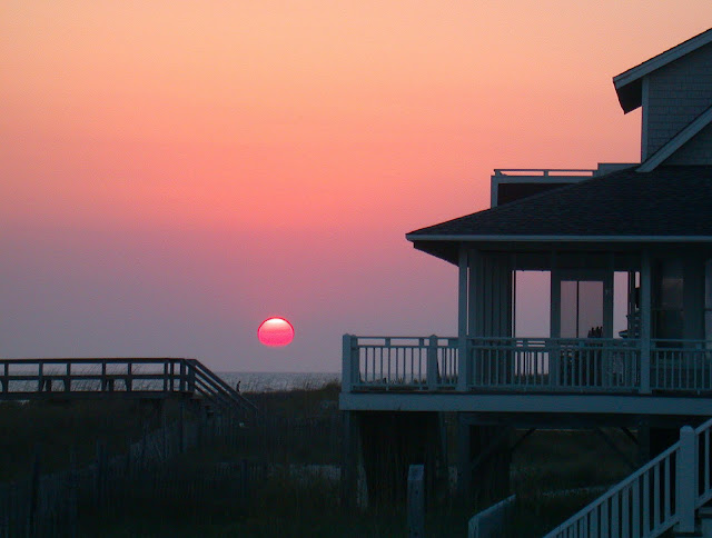 Beautiful Bald Head Island at Sunset