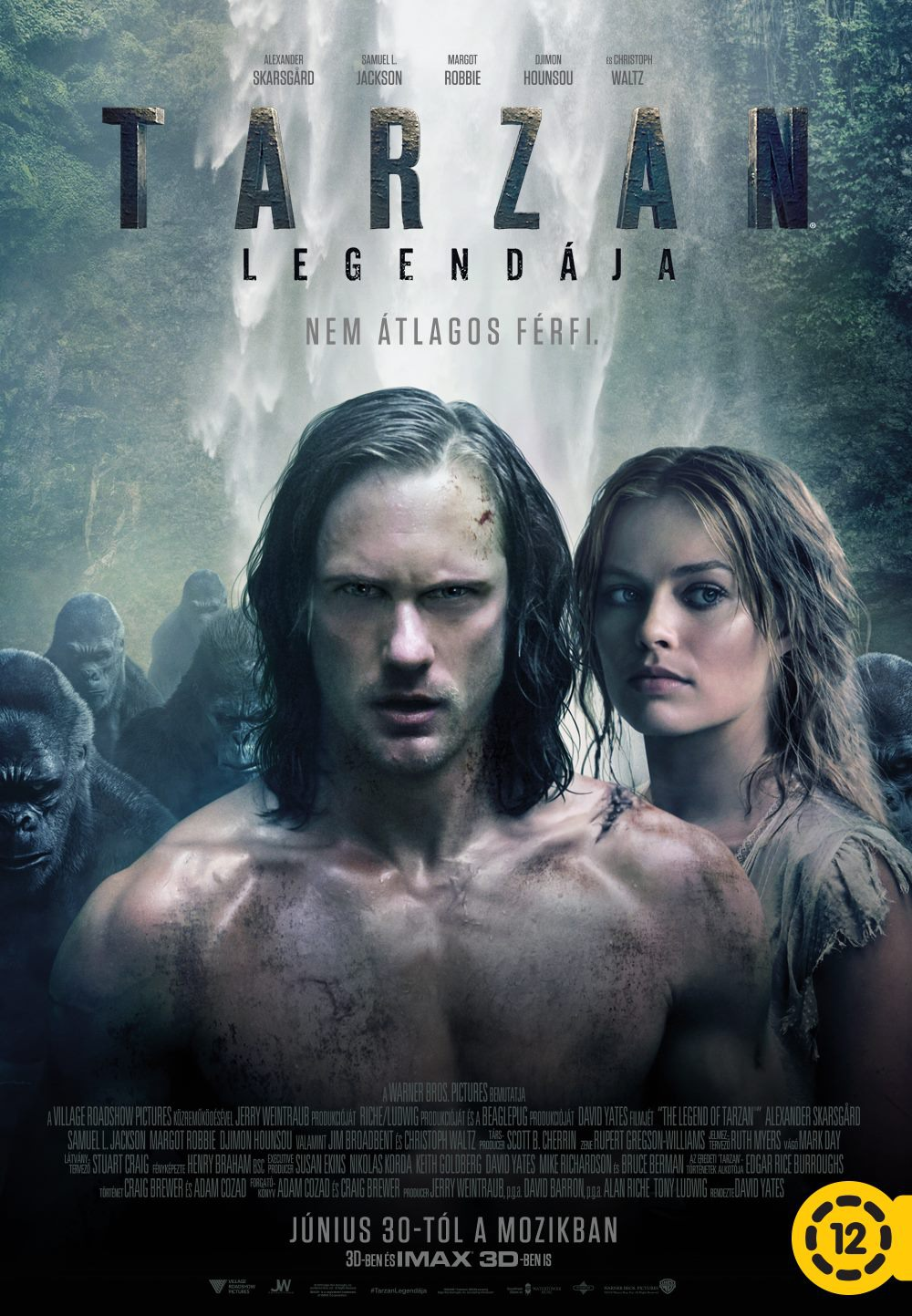 Nonton Film The Legend of Tarzan (2016)