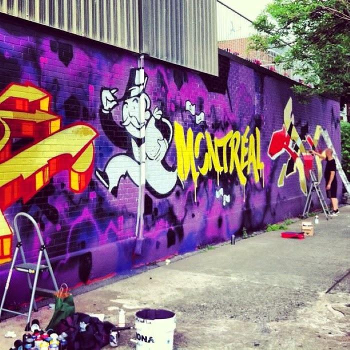 Коллектив молодых художников. A'shop (Стрит Арт)
