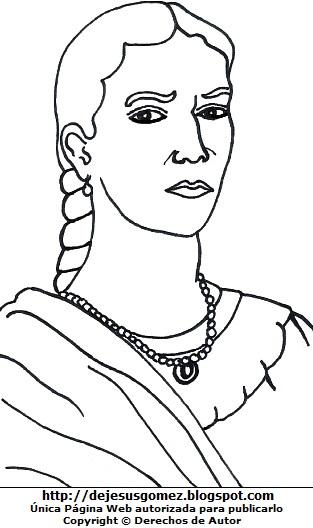 Dibujo de María Parado de Bellido para colorear e imprimir. Ilustración de María Parado de Bellido de Jesus Gómez