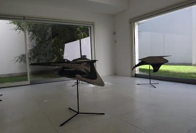 Esculturas no Museu de Arte Contemporânea do Porto