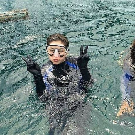 Take A Look Back In The Days When Angel Locsin Went Hiking And Scuba Diving