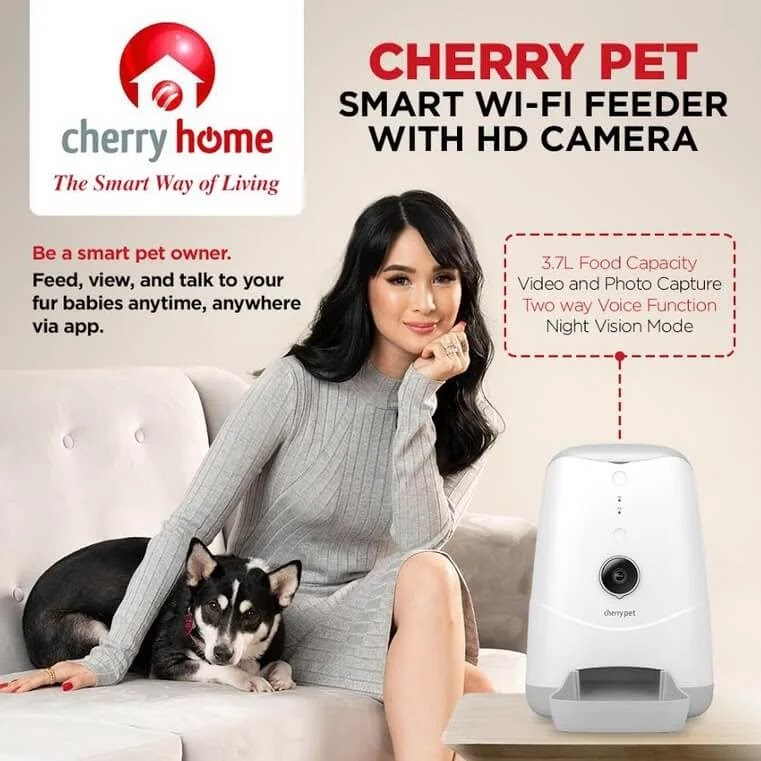 Cherry Home Launches Cherry Pet Smart Wi-Fi Feeder; Yours for Only Php5,000