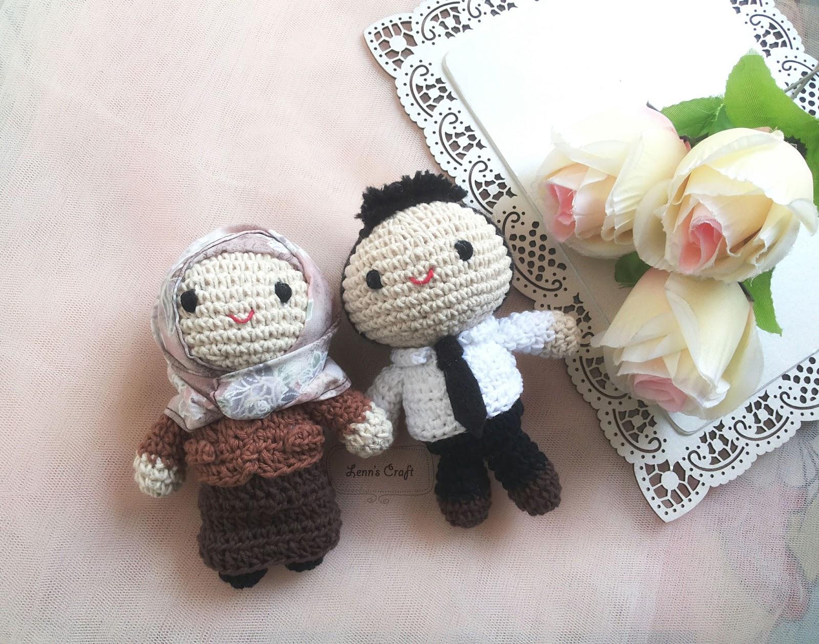 Amigurumi Boneka : Lenn s craft handmade doll amigurumi jual boneka hijab