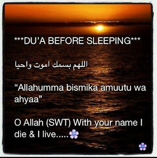 Sleeping Dua
