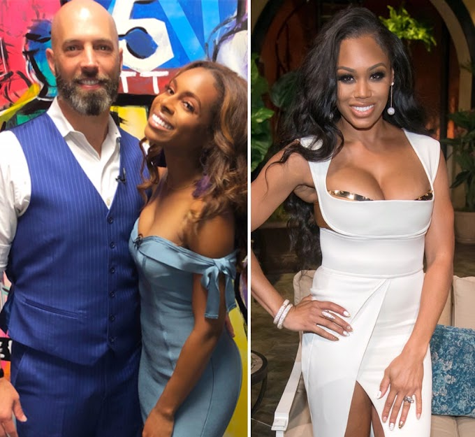 Candiace Dillard's Husband Chris Bassett Details What Led To The Altercation Between His Wife And RHOP Co-Star Monique Samuels!