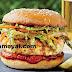 சிக்கன் பர்கர் செய்முறை | Chicken Burger Recipe !