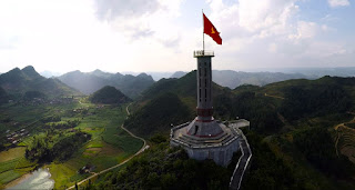 Lung Cu Flagstaff in Ha Giang