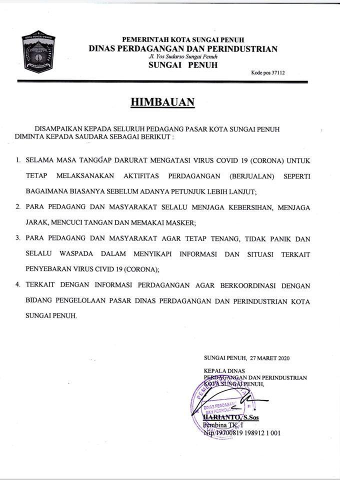 Tepis Hoax Penutupan Pasar Tanjung Bajure, Ini Penjelasan Pemkot