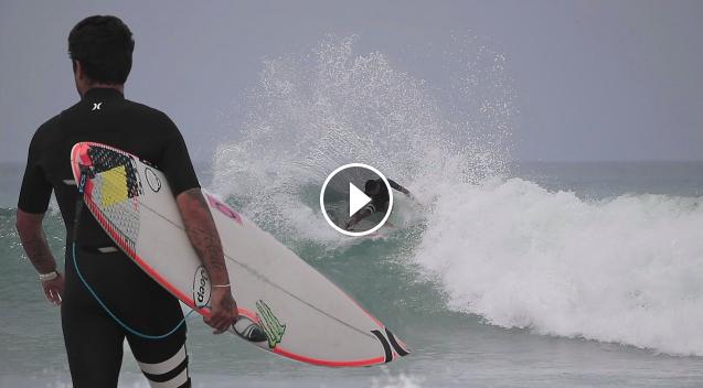 Filipe Toledo Jack Robinson and other pros SURFING Trestles