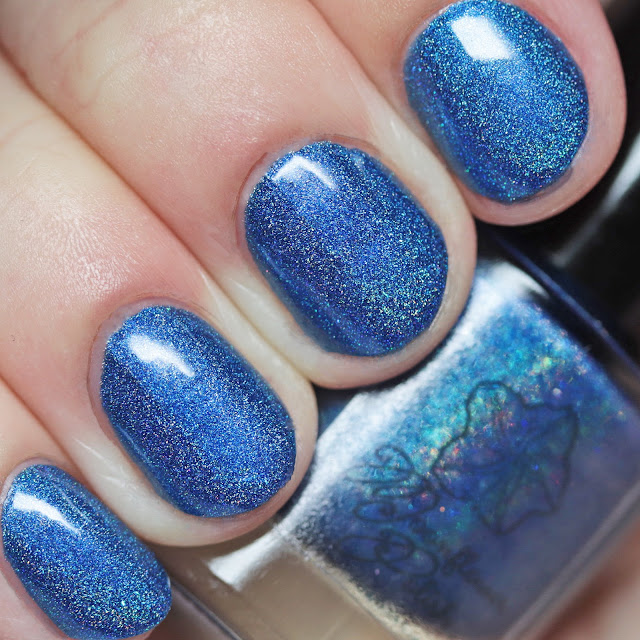 Moonflower Polish Zafiro (Sapphire)