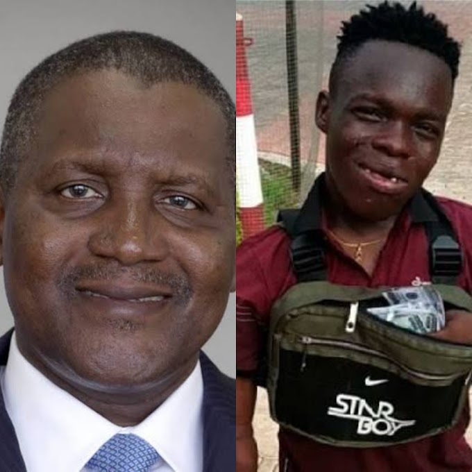 Dangote Finally Reacts To Shata Bundles Claims Of Being Richer Than Him