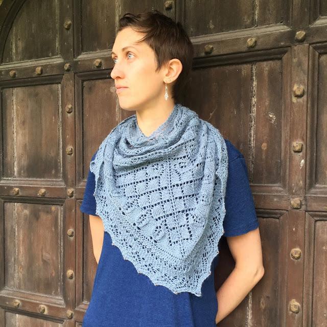Lanhydrock shawl pattern