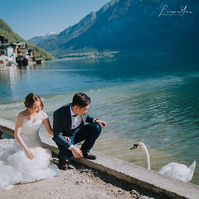 picturesque lake austria