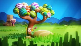 Pohon permen manis kaya nya sih