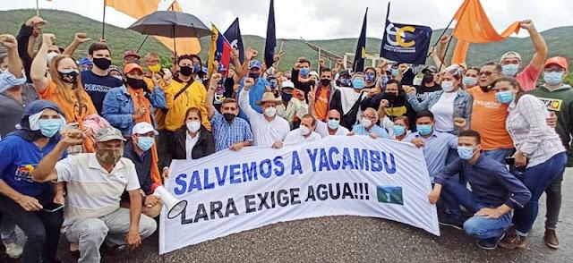GUILLERMO PALACIOS: DELEGADA DE LA AN EXIGE CULMINACIÓN DE LA REPRESA YACAMBÚ QUIBOR EN LARA
