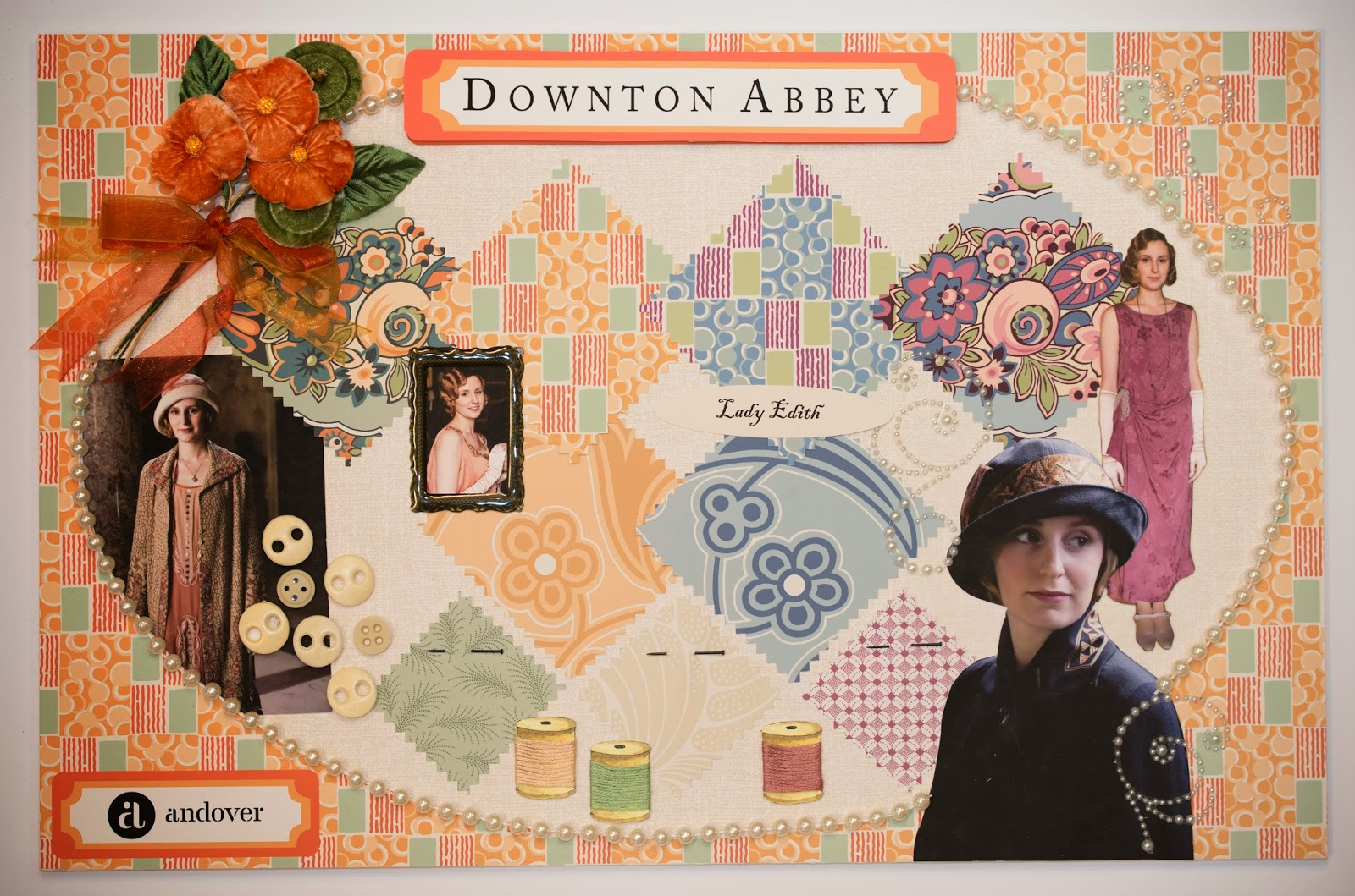 Downton Abbey Fabric Collection Dear Edna