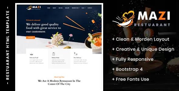 Best Fast Food & Restaurant HTML Template