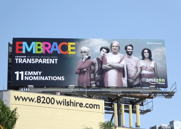 Embrace Transparent 2015 Emmy billboard