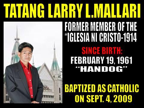 Debatte ng iglesia ni cristo at ang dating daan