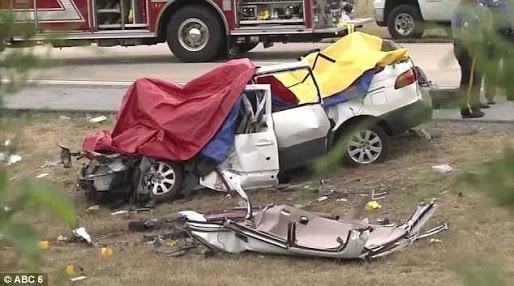 TRAGIC! Father & His Four Daughters Die In Car Crash (Photos)