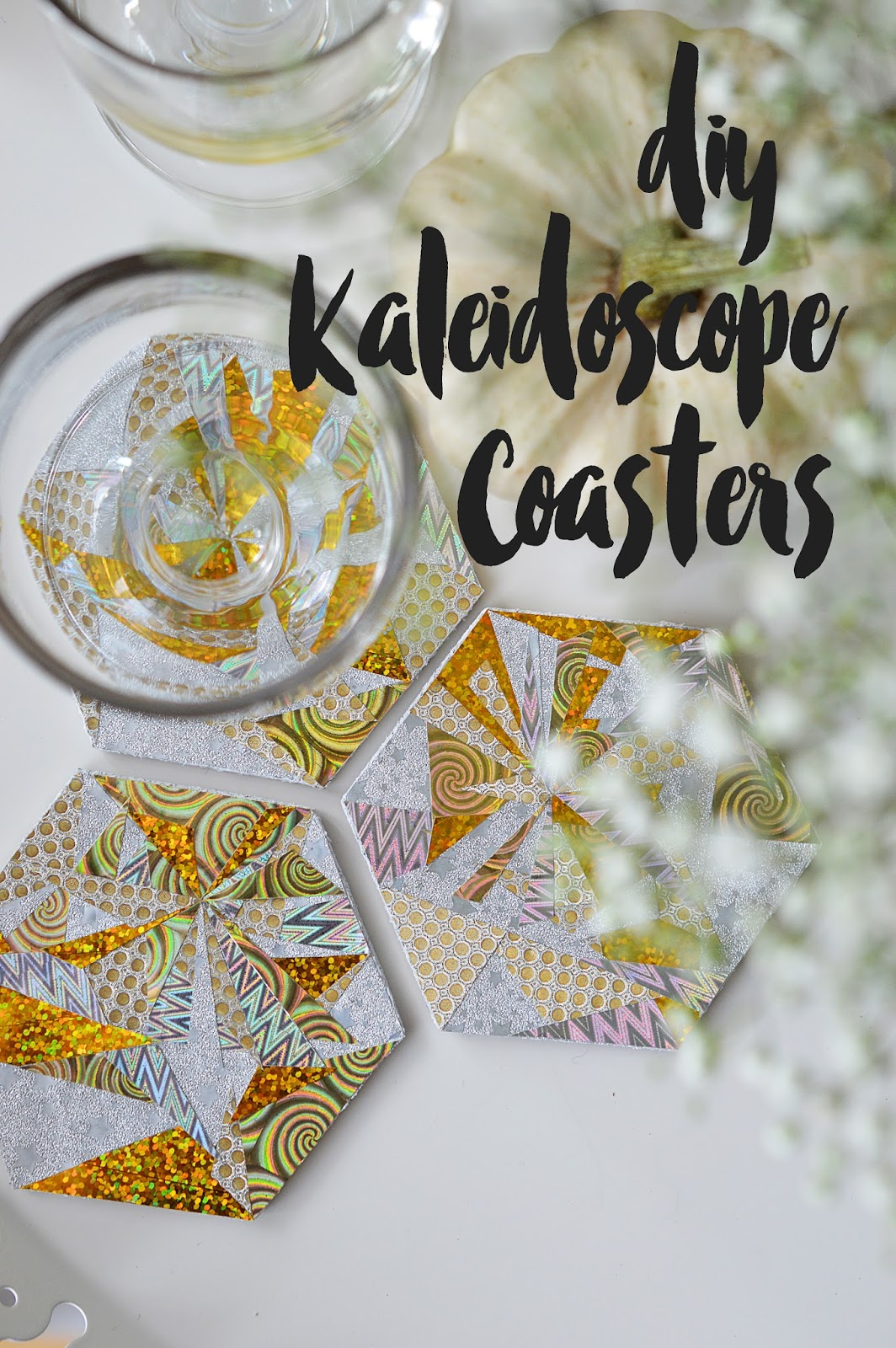 DIY Kaleidoscope Coasters | Motte's Blog
