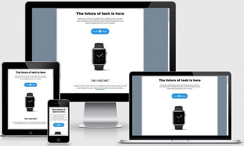 Landing Page Blogspot
