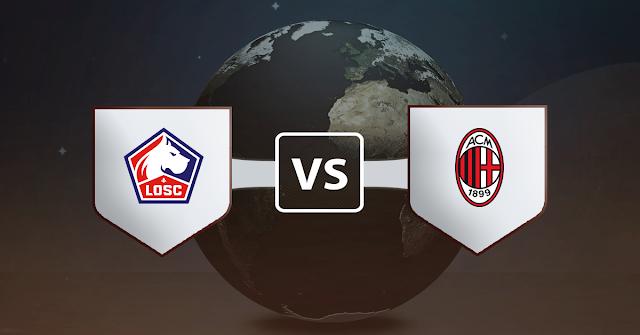 نتيجة مباراة ميلان ونادي ليل اليوم الخميس 26 نوفمبر 2020 في الدوري الأوروبي