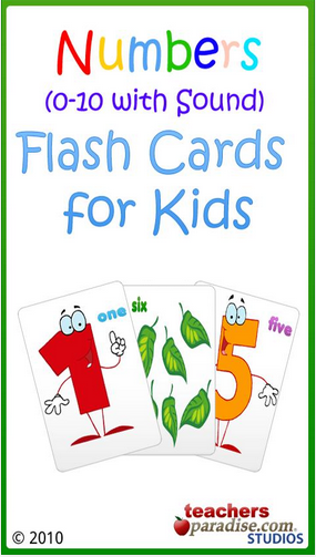 Game Android Anak 0-10 Numbers Baby Flash Cards
