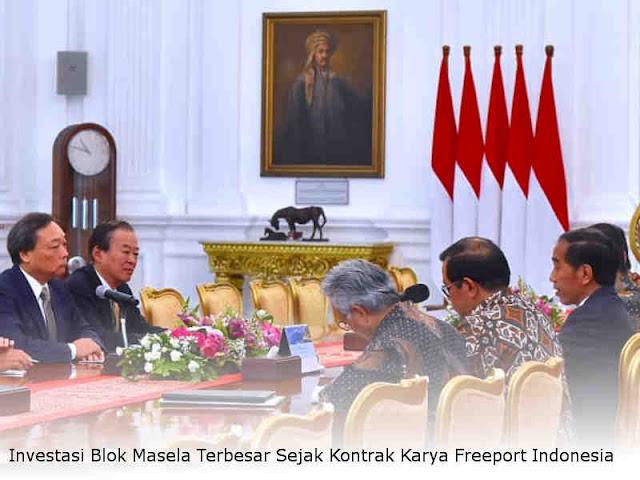 Investasi Blok Masela Terbesar Sejak Kontrak Karya Freeport Indonesia