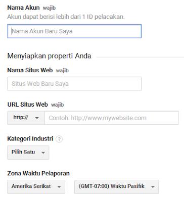 Cara Mendaftar Dan Memasang Google Analytics Di Blog 3