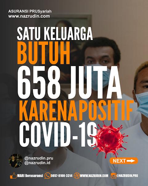Satu keluarga dicover 658 juta untuk perawatan COVID-19