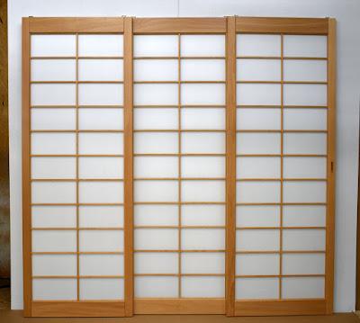 Custom Japanese Shoji screens