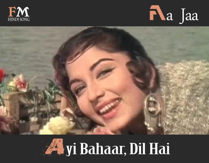 Aa-Jaa-Ayi-Bahaar-Dil-Hai-Rajkumar-(1964)