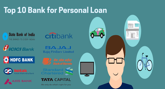 Top 10 Banks for Personal Loan in India 2018